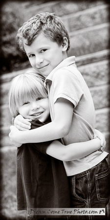 Dream Come True Photo - Happy Family - capturing the personality and brother's love