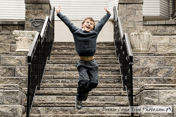 Dream Come True Photo - amazing image of a boy jumping and having fun on a photoshoot