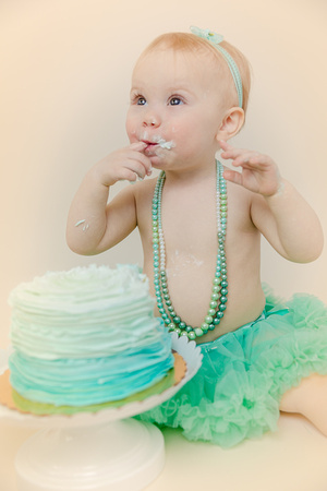 Dream Come True Photo: baby girl photoshoot in honor of first birthday
