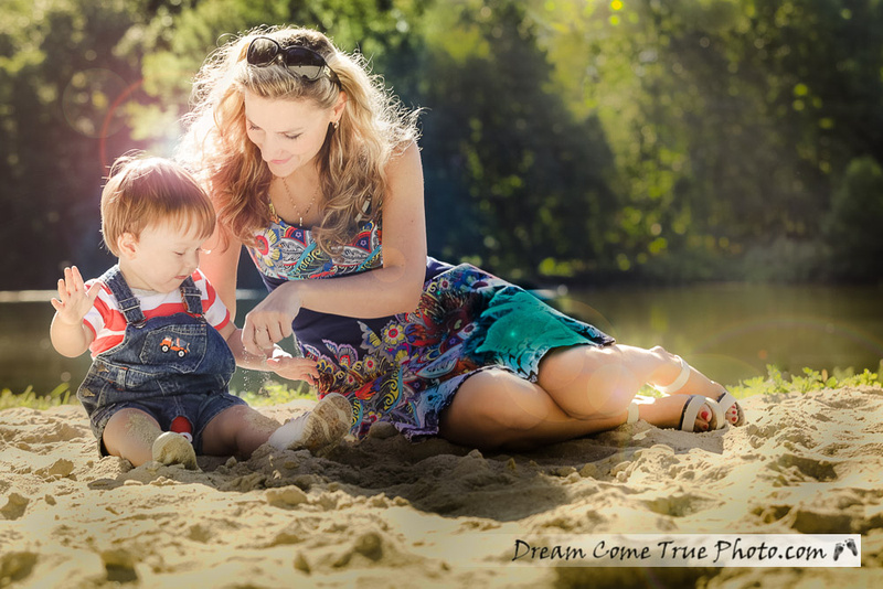 Dream Come True Photo - Family Photosession outside - Love and connection