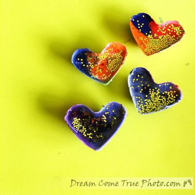 Melted Crayons - easy, beautiful, creative craft for little or big kids for Mothers Day