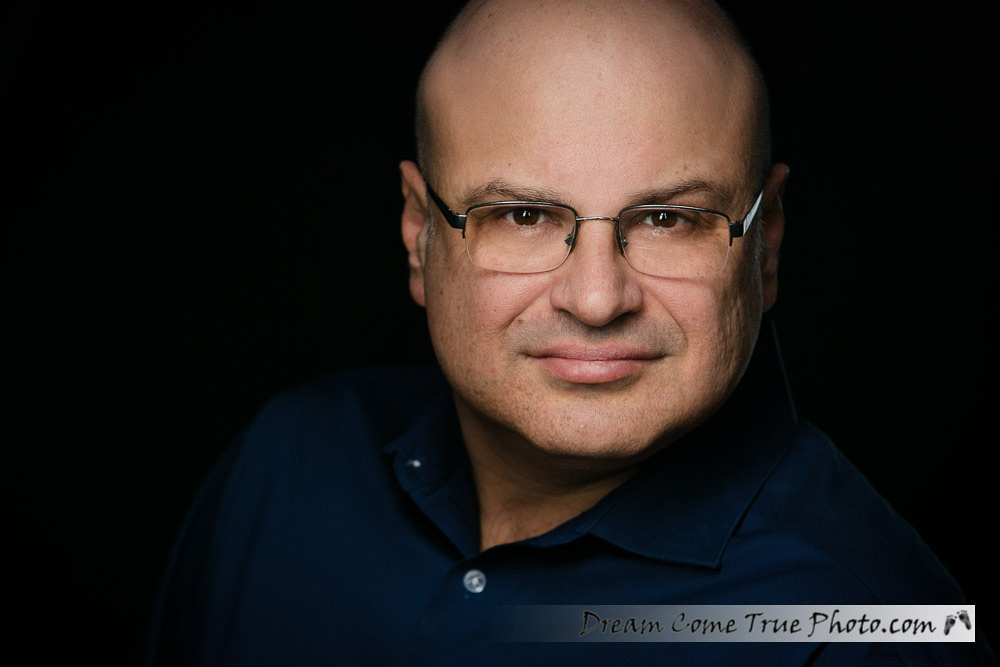 A Dream Photo headshot created by Elly Dream - authentic, professional, artistic, confident, approachable man ready to jumpstart his career